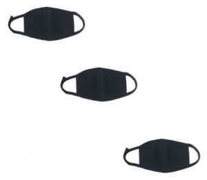 3 PCs Pollution / Dust Mask For Mouth & Nose