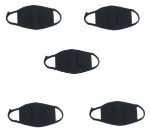 5 PCs Pollution / Dust Mask For Mouth & Nose