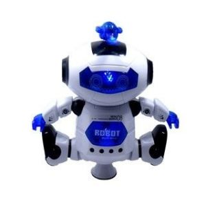 Battery Operated Toys - Super Robot Dancing Toy With Music & Flashing Light