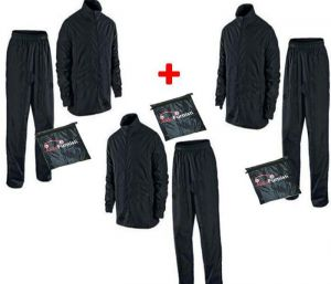 Autofurnish Complete Rain Suit With Carry Bag (set Of 3)