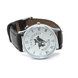 Boys Watches - Branded Polo Club San Dieco White Dial Men's Watch