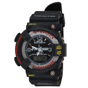 Dual Time Analog/digital Sports Watch