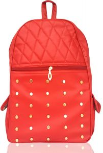 Girls Casual School, College, Office Leather Studded Shoulder Bag. (code - Studed Leather Pithu)