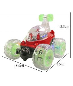 Remote Control Rechargeable Kids Playing Indoor Stunt Car