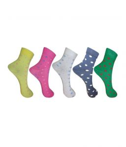 platinum,ag,estoss,port,101 Cart,Lew,Reebok,Mahi,Petrol,Aov Apparels & Accessories - Aov Women's Floral Print Ankle Length Socks 5 Pairs