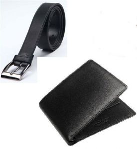 Export Quality Leather Wallet Belt