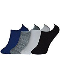 Designer Terry/towel Cotton Unisex Loafer/footies Socks (pack Of 4)