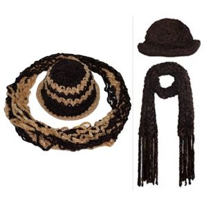 Buy Ladies Winter Woolen Cap And Get Weave Muffler Free