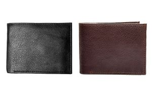 Skylark Designs Formal Artificial Leather Mens Wallet Pack Of 2