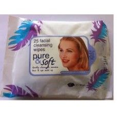Pack Of 3 - Pure & Soft Facial Cleansing Wipes