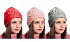 Ladies Woolen Beeded Hat