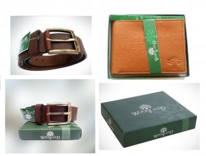 Reversible Belt And Wallet Combo