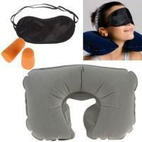 3 In 1 Travel Set-neck Pillow Eye Mask Ear Plug