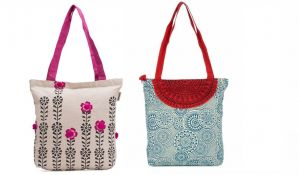 Shopping Bags - Buy 1 Get 1 Free Pick Pocket Canvas Accrue Tote Handbag
