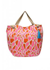 Kiara,Fasense,Flora,Triveni,Pick Pocket,Sukkhi,Kaamastra Handbags - Pick Pocket Pink Canvass Joli Bag - Jogiraf59