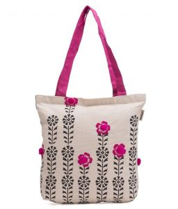 Handbags - Pick Pocket Canvas Accrue Tote  Hand Bag Toblkpkpom8