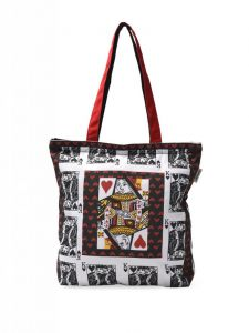 Pick Pocket Red Canvass Tote Bag - Tocard50