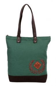 Pick Pocket Military Green Tote