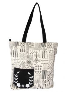 Pick Pocket Canvas Stylish Tote Bags