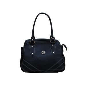 Fostelo Diamond Studded Black Handbag