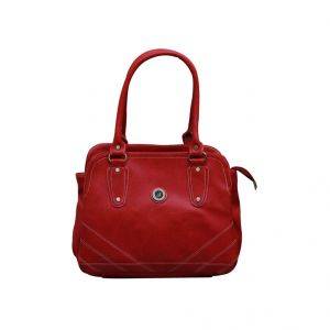Fostelo Diamond Studded Red Handbag
