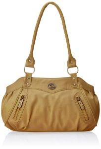 Fostelo Swann Beige Leather Handbag