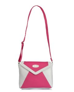 Handbags - Fostelo Women's Vera Pink Crossbody Bag (Code - FSB-1077)