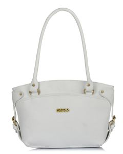 Fostelo Women S Princess Diana White Handbag Code Fsb 1095