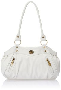 Fostelo Elite Swann White Handbag