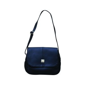 Handbags - FOSTELO STYLISH BLACK HANDBAG