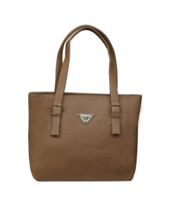 Fostelo Swiss Large Beige Handbag