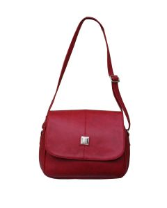 Fostelo Stylish Red Handbag