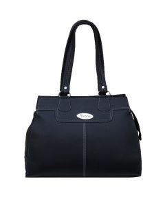 Shopping Bags - FOSTELO ISLE BLACK HANDBAG