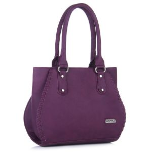 Fostelo Everyday Casual Purple Handbag
