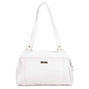 Fostelo Royal Kate White Handbag
