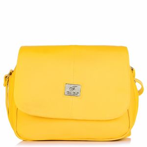 Fostelo Stylish Yellow Handbag