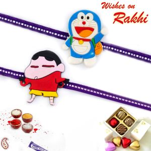 Aapno Rajasthan Set Of 2 Kids Favourite Characters Rakhi