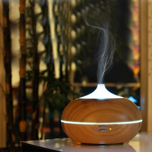 Suhanee,Kawachi Home Decor & Furnishing - Kawachi Ultrasonic Aromatherapy Essential Oil Diffuser with 210ml Capacity, 7 Changed Color and Auto Shut-off Function