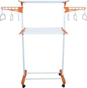 Kawachi 2 Tier Laundry Hanger Power Dryer Easy Mild Steel Cloth Drying Stand I71
