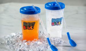 Icy Cold Slushy With A Slushy Magic With 3 Re-usable Magic Ice Cubes