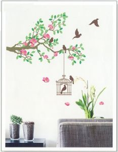 Kawachi Home Decor & Furnishing - Home Decor Living Room Wall Decal-MEJ1001 K134A