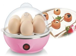 Kitchen Appliances - Kawachi Mini Electric Egg Cooker Egg Boiler-Pink