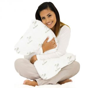 Kawachi Miracle Bamboo Hypoallergenic Memory Foam Pillow Pack Of 2 PCs