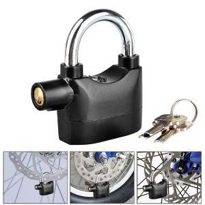 Security for cars and bikes - Kawachi Security Shed Garage Bike, Motorbike, Door, Car Padlock Siren K294