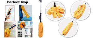 Kawachi Kitchen cleaning equipments - Amazing collapsible non-woven mop/ foldable mop K324