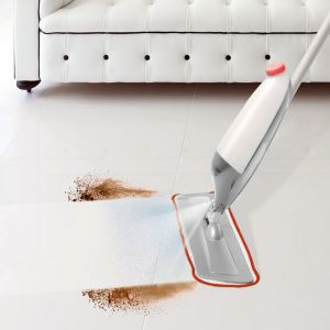 Kitchen cleaning equipments - Kawachi Spray Mop With Removable Washable Floor Cleaning microfiber K353