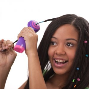 Kawachi Personal Care & Beauty - Kawachi Electric Glam Twirl - Easy & Automatic Hair Braider and Hair Wrap Styling Tool-K364