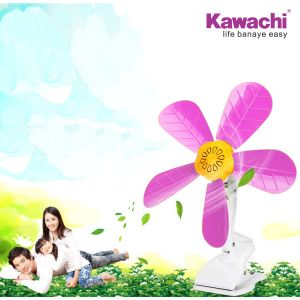 Kawachi Wall Mounted Clip Desktop Electric Mini Fan Energy-saving Fans Plastic Blade Mini Clip Fan Hanging Fan Electric Fan