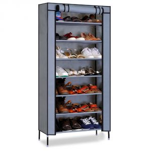 Kawachi Multipurpose Shelf Shoe Storage With 7 Layer Shoe Stand Rack