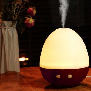 Suhanee,Kawachi,Kreativekudie Fragrances - Kawachi Egg Shape USB Air Purifier Atomization Machine for Home & Car